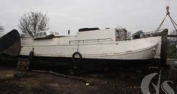 Ex Dutch Commercial Cargo Carrying Barge (Skutsje)